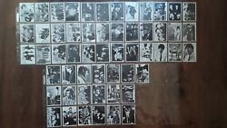 Topps Beatles Trading Cards / 1964 Bandw Series 61-115