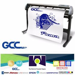 Gcc Iv Lx P4-132lx Vinyl Cutter For Sign And Htv 52andrdquo 132 Cm Free Shipping
