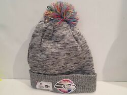 Seattle Seahawks New Era Gray 2020 Nfl Crucial Catch Knit Hat - Sold Out
