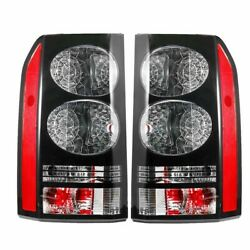 Pair Tail Light For Land Rover Discovery Lr3 And 4 2004-2016 Brake Lamp With Bulb