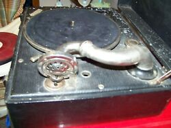 Decca Portable Vintage Record Player 78 Rpm Phonograph Family Owned