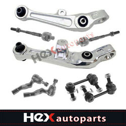 8pc Front Suspension Kit Control Arm Tie Rod For Infiniti G35 Nissan 350z 2wd