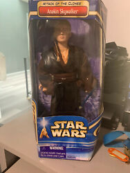 Star Wars Attack Of The Clones Anakin Skywalker Brand New Box Is Dented