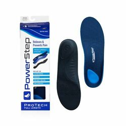 Powerstep Protech - Full Length Insoles Professional Grade Orthotic Many Sizes