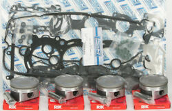 Platinum Series Top End Piston Rebuild Kit .5mm Over Yamaha Waverunner Fzs 09-13