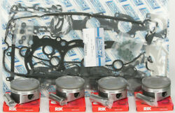 Platinum Series Top End Piston Rebuild Kit .5mm Over Yamaha Waverunner Fzr 09-13