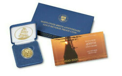 Confirmed Mayflower 400th Anniversary Gold Reverse Proof Coin Low Mintage