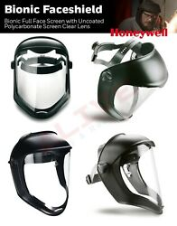 1011623 Honeywell Bionic Face Shield Face Visor Full Eye And Face Cover Protection
