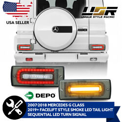 2019+ W464 Oe Smoke Led Sequential Signal Tail Light For 07-17 Mercedes W463 G