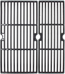 Cast Iron Grill Grates For Charbroil Performance 2 Burner Grill 46362 18 3/16
