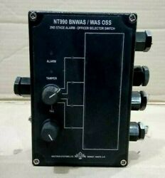 Navitron Was Oss 2nd Stage Alarm -officer Selector Switch Nt990 Bnwas / Was Oss