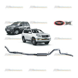Redback Extreme 3 Exhaust For Toyota Prado 120 150 Series D4d 3l Cat/muff