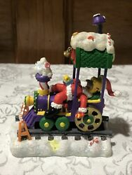 The Simpsons Christmas Express Collection Asleep At The Wheel Train Homer Coa