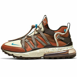 New Menand039s Air Max 270 Bowfin Shoes Russet Brown Hiking Trail Multi Size Fastship