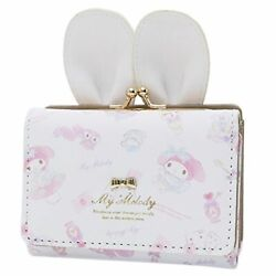 Sanrio My Melody Mini Wallet White With Cute Ear Design Xmas Gift