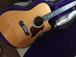 Gibson Cl-45 1997-1998 Natural Made In Usa Acoustic Guitar With Hard Case