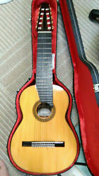 Asturias A15-10 Natural 10 String Made In Japan Classical Acoustic Guitar