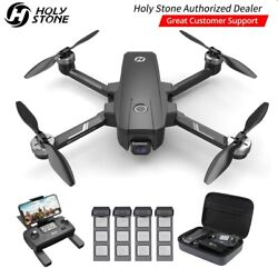 Holy Stone Hs105 Hs720e Gps Drone With 4k Uhd Eis Camera Brushless Rc Quadcopter