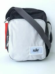 NWT NIKE HERITAGE SMIT BAG CROSSBODY SHOULDER CHARCOAL WOLF GREY CK0988 Unisex $26.60
