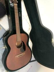 Martin Ooo-15m Natural Acoustic Guitar Made In Usa W/ Hard Case Japan Shipped