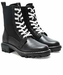 Rag And Bone Womenand039s Shiloh Leather Combat Boots