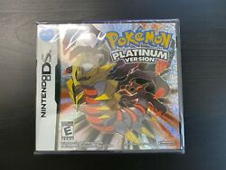 Pokemon Platinum Version Nintendo DS Brand New Sealed in Box USA Shipping