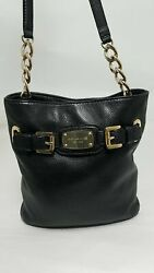 Michael Kors Hamilton Black Crossbody Bag $45.00
