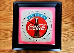 Coca Cola Advertising Store Kitchen Wall Clock Battery Works Burwood Products