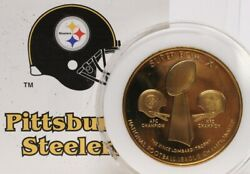 Rare Pittsburgh Steelers Superbowl Coin