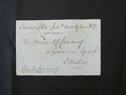 1st Earl Canning Charles Canning Hand Signed Note Dated 1857 Todd Mueller Coa