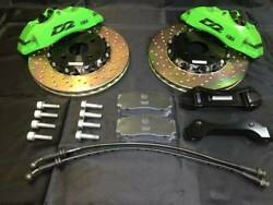 New Unused D2 Racing 4pot Front Caliper 286φ Drilled Rotor Nd5rc Roadster 455
