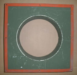 4130-01-349-8564 Duct Adapter Usmc Shelter 82a5050a0338 Square To Round 17x17...