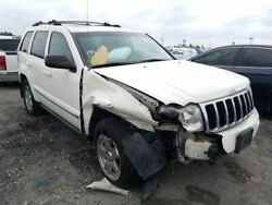 Rear Bumper With Chrome Accent Trim Plate Fits 05-10 Grand Cherokee 2233241