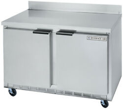 Beverage-air Wtr48ahc 11.82 Cuft 48 Wide Two Section Work-top Refrigerator