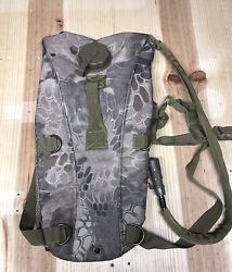 Kryptek Hydration Pack 3l Molle Tactical Insulated W/ Bladder Camelbak New Tan