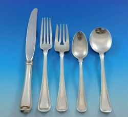 Old French By Gorham Sterling Silver Flatware Set For 6 Service 33 Pieces