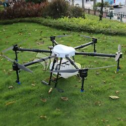 6axis Agriculture Drone 1400mm Uav Drone Frame Capacity 10kg 10l Tank For Farm