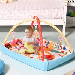 3 In 1 Multifunctional Musical Hanging Toys Play Mat