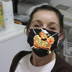 Us Navy Popeye Cloth Face Mask Christmas Face Mask, Washable Reusable 3d
