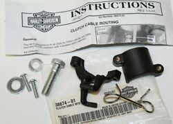 GENUINE 2000 Up Harley FLTR I Clutch Cable Routing Mounting Kit 38674 01 NOS $9.95