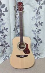 James J-500d Natural Acoustic Guitar W/ Soft Case Shipped From Japan