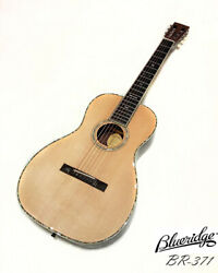 Blueridge Br-371 All Solid Sitka Spruce And Rosewood Parlor Guitar