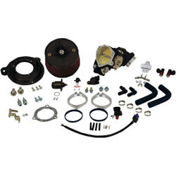 170-0289 Induction Kit 70mm Cable Operated Harley Flhr 1450 Road King 2002
