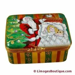 Studio Collection - Christmas Night - Limoges Box Authentic Porcelain Figurine F