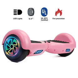 6.5 Hoverboards Electric Self-balancing Scooter Led Christmas Girl Gift No Bag
