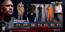 One Toys 16 Ot010 Mr. Stone 12inch Male Action Figure Durable Body Doll