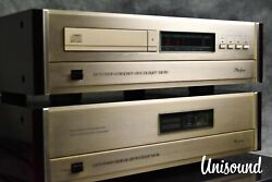 Accuphase Dp-80 Compact Disc Cd Player And Dc-81 Dac In Very Good Condition
