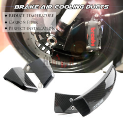 108mm Carbon Air Duct Caliper Brake Cooling For Yamaha Yzf-r1 04-19 Yzfr6 05-16