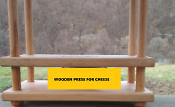 Wooden Press For Homemade Cheese Tofu Curd  New