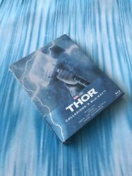 """Thor Trilogy Blu Ray Limited Edition ⚡️steelbook⚡️ """"super Rare"""" Brand New"""